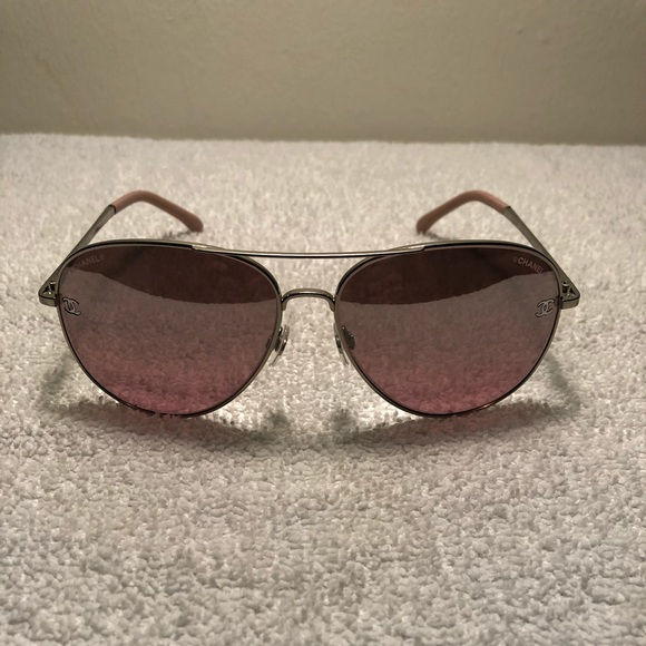 0f09c183cf127 CHANEL Accessories - Chanel 4189-t-q c.124 7e Pilot Pink Sunglasses
